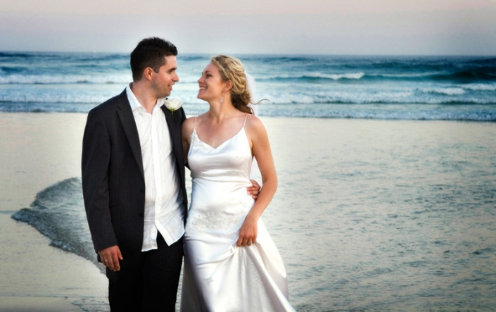 wedding photography gold coast beach
