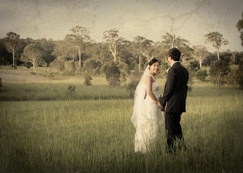 wedding photography queensland countryside