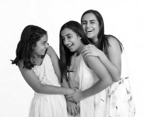 black and white candid kids photoshoot Brisbane
