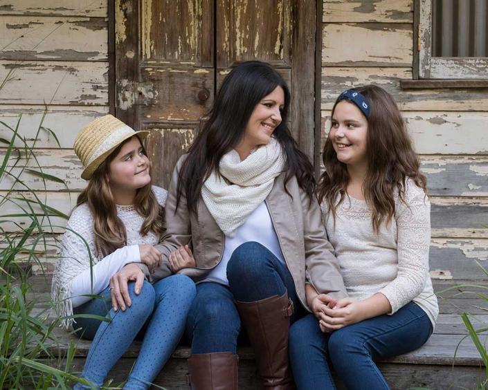 heartfelt family photography brisbane studio