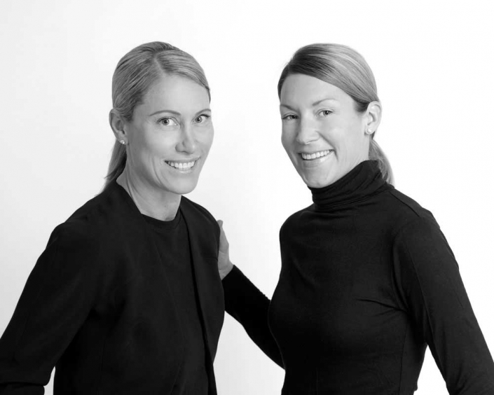 Friendly team corporate headshots for website