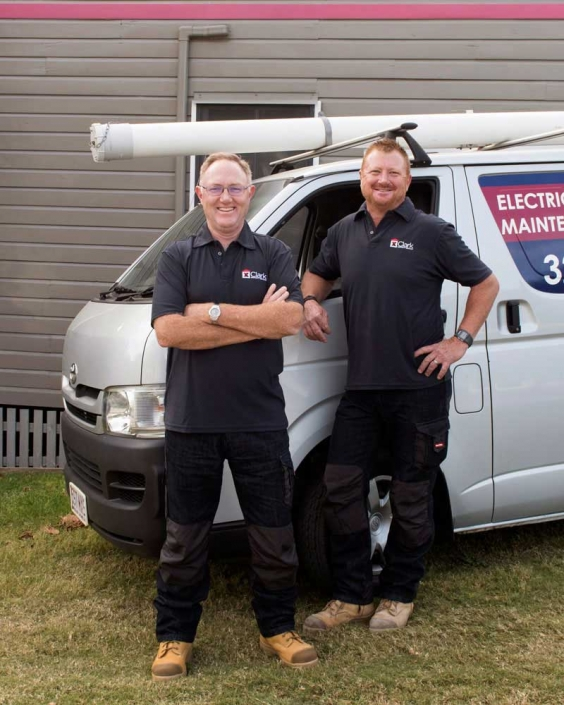 Brisbane tradies in workwear for headshot and website photography