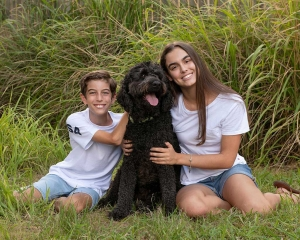 children and their pets photoshoot coorparoo