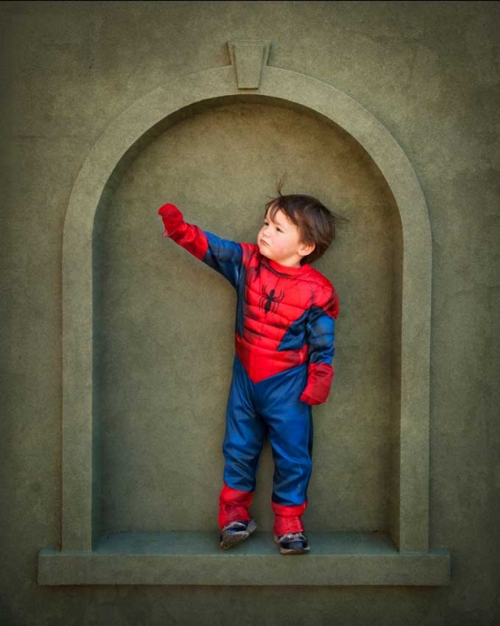 Brisbane-kids-photography-superman-costume- dress ups