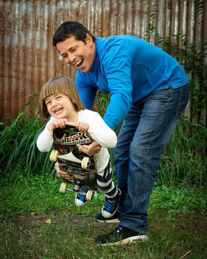 fun father and son family photoshoot ideas