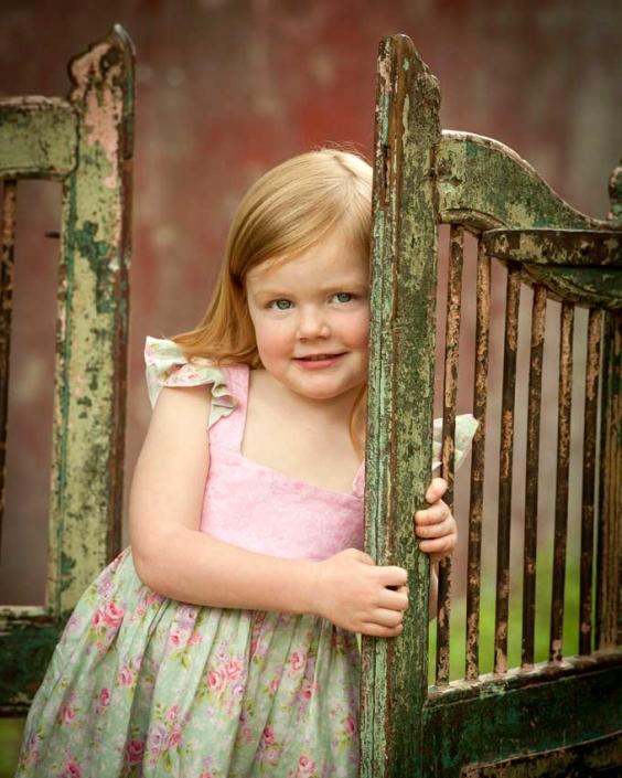 kids portraits outdoor studio Brisbane Coorparoo