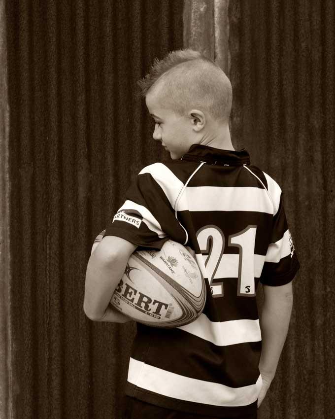 cool kids photoshoot for sports fan kids