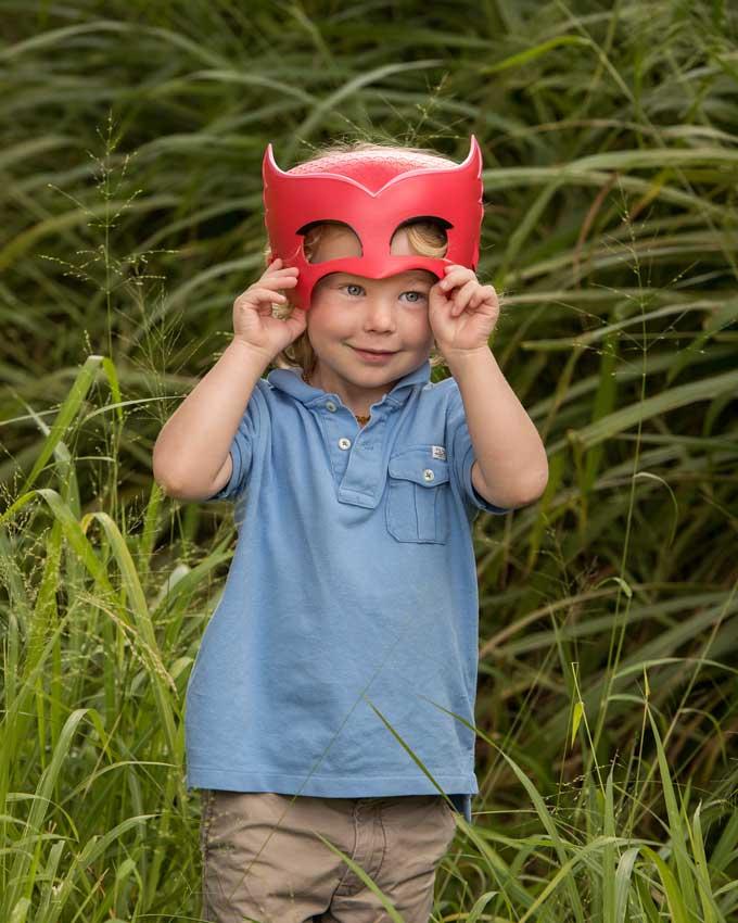 kids masks costume dress up photoshoot Brisbane